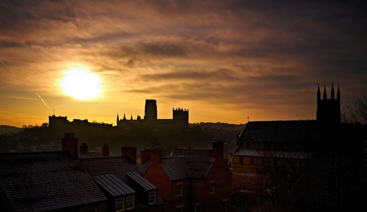 Silhouette of Durham Cathedral
