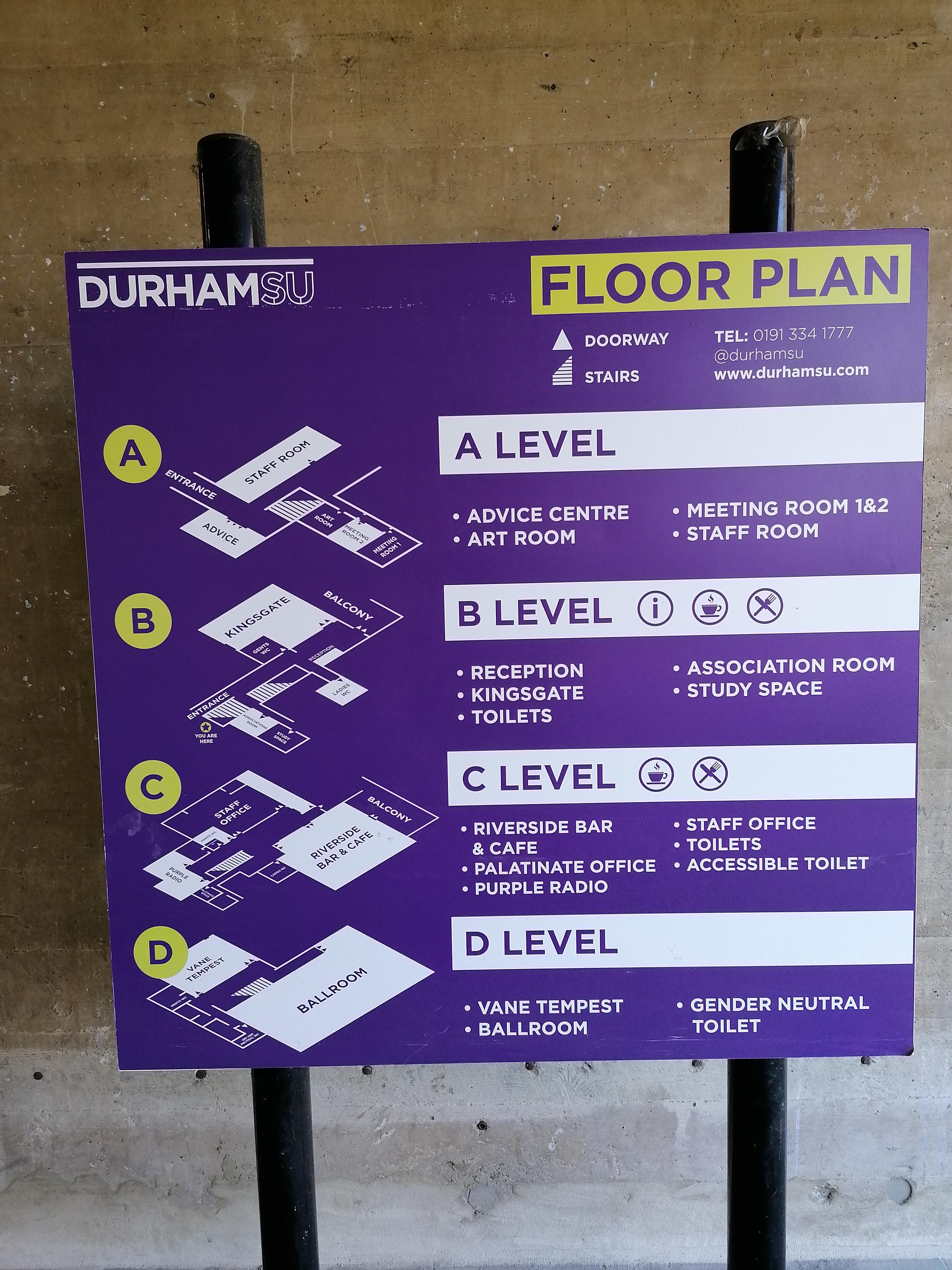 Dunelm House floor plan