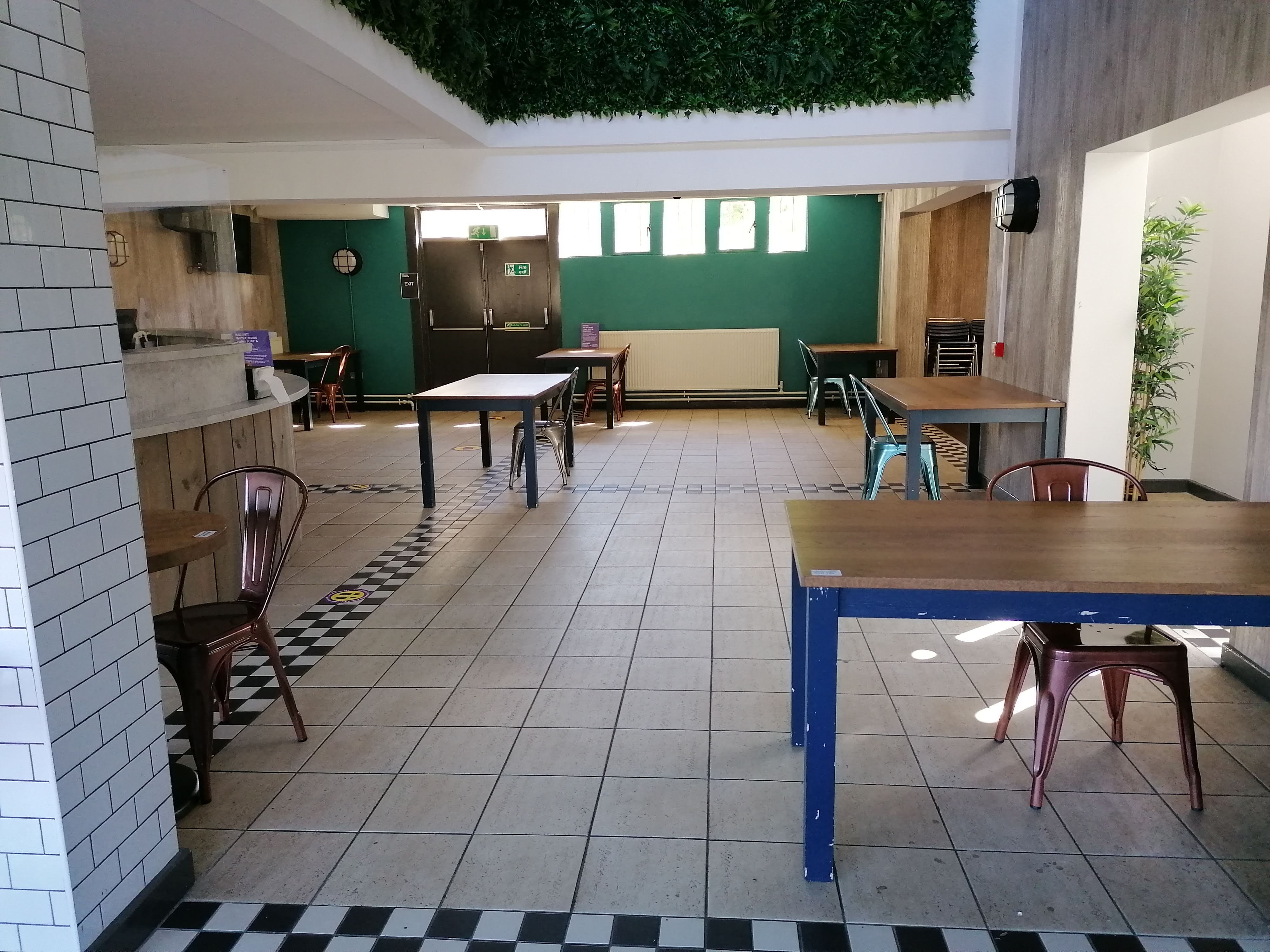 Study spaces in the Kingsgate area in DSU