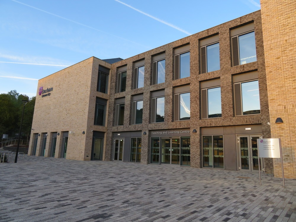 Outside the Teaching and Learning Centre