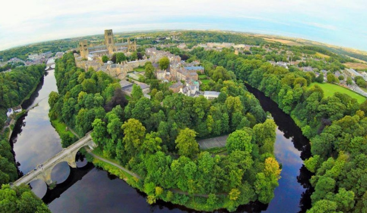 Durham Peninsular from above