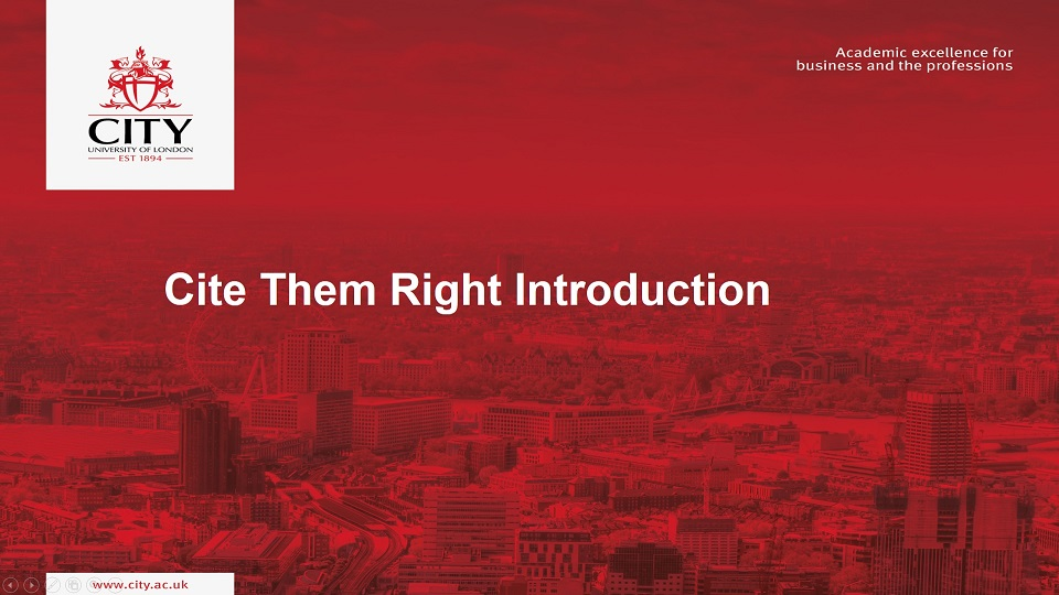 cite them right introduction