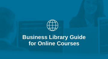 Business Library online resources