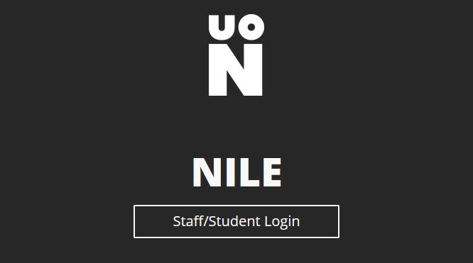 NILE Staff/Student Login