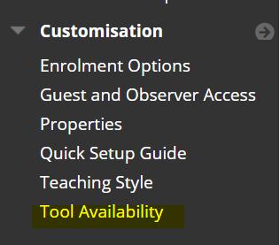 tool availability