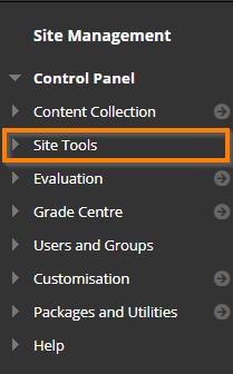 click Site Tools