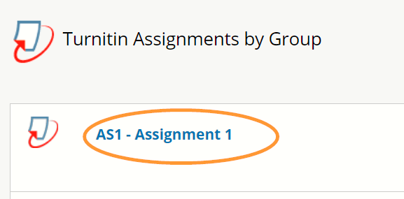The assignments are listed in the order they were created.