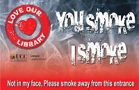 blurred image of smoke and text you smoke i smoke