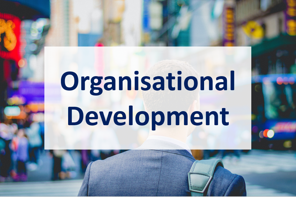 Staff Intranet page for Organisational Development