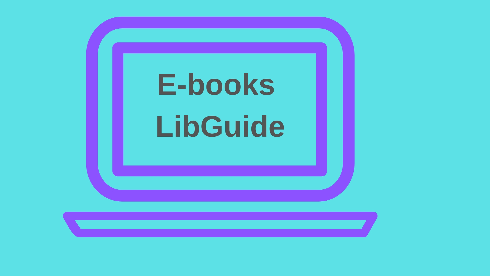 E-books Libguide