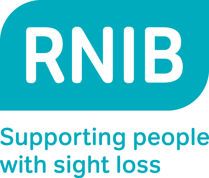 RNIB Supporting people with sight loss logo