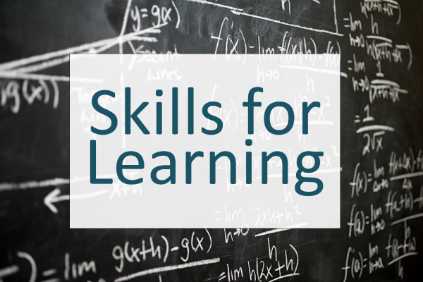 Skills for Learning pages