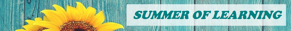 Summer of Learning banner image
