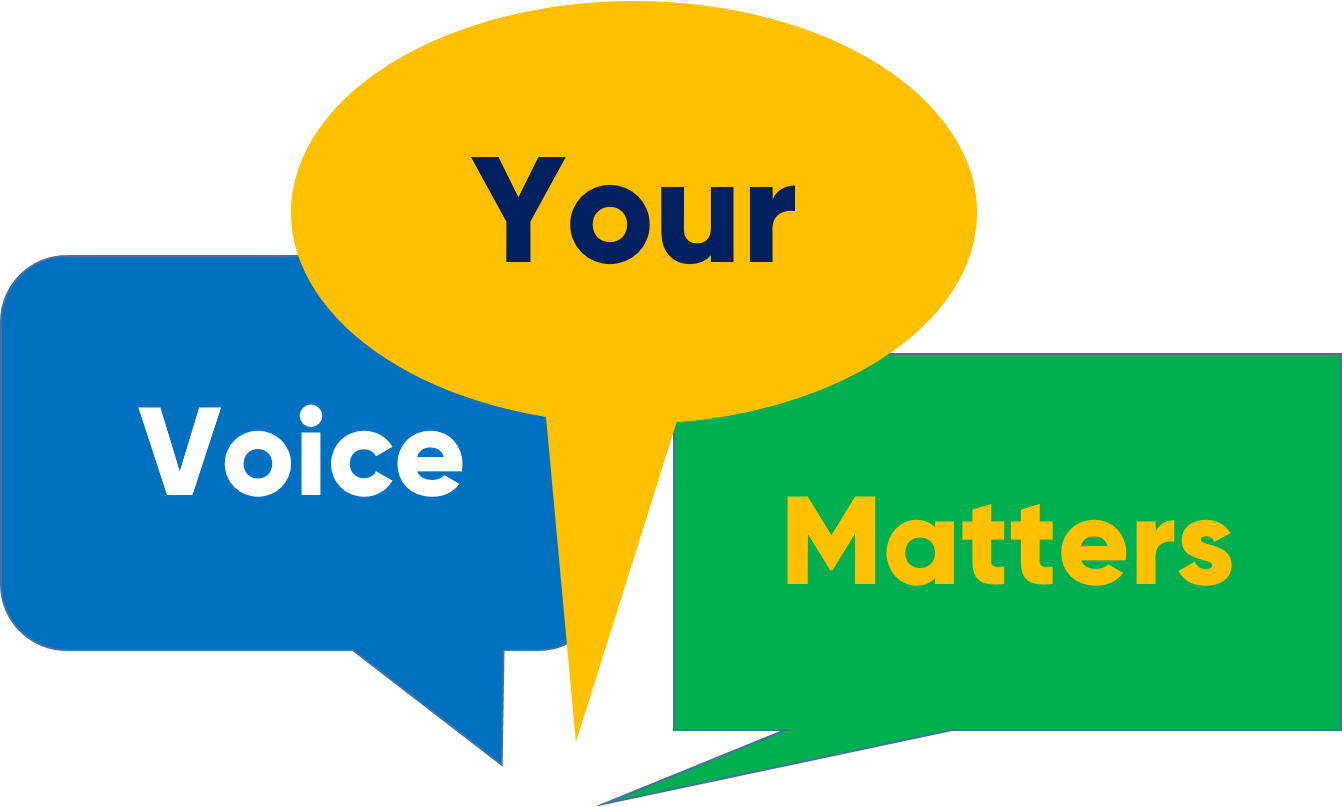 Your Voice Matters link to our feedback web pages