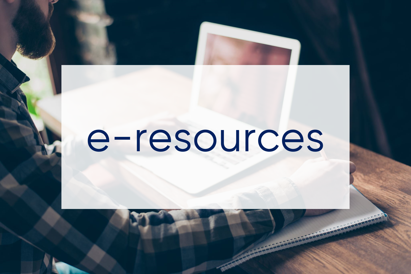 click here to access e-resources