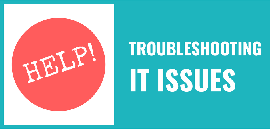 Troubleshooting IT issues