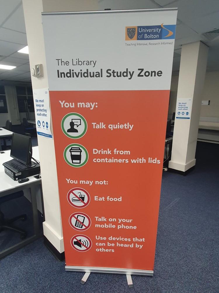 Individual Study Zone banner