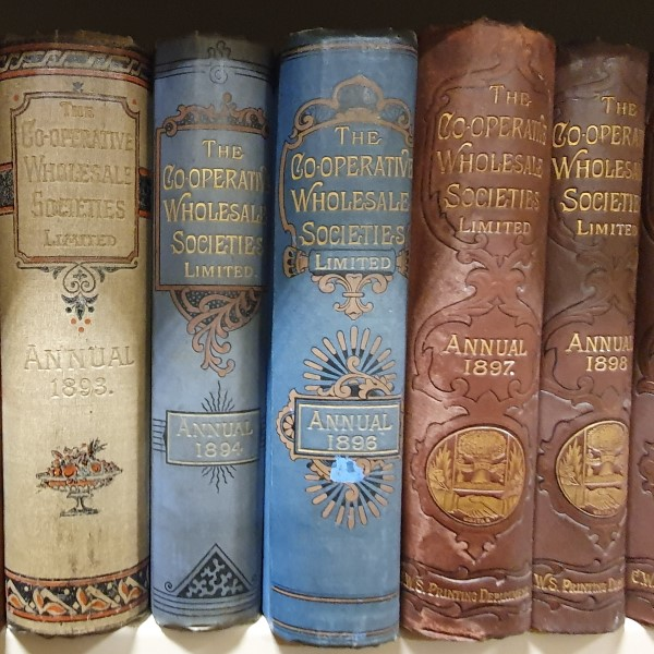 A selection of Co-Operative Wholesale Society Annuals