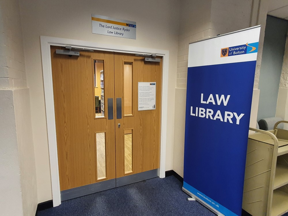 Entrance to the Law Library