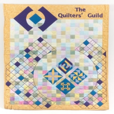 Logo quilt of the Quilters Guild