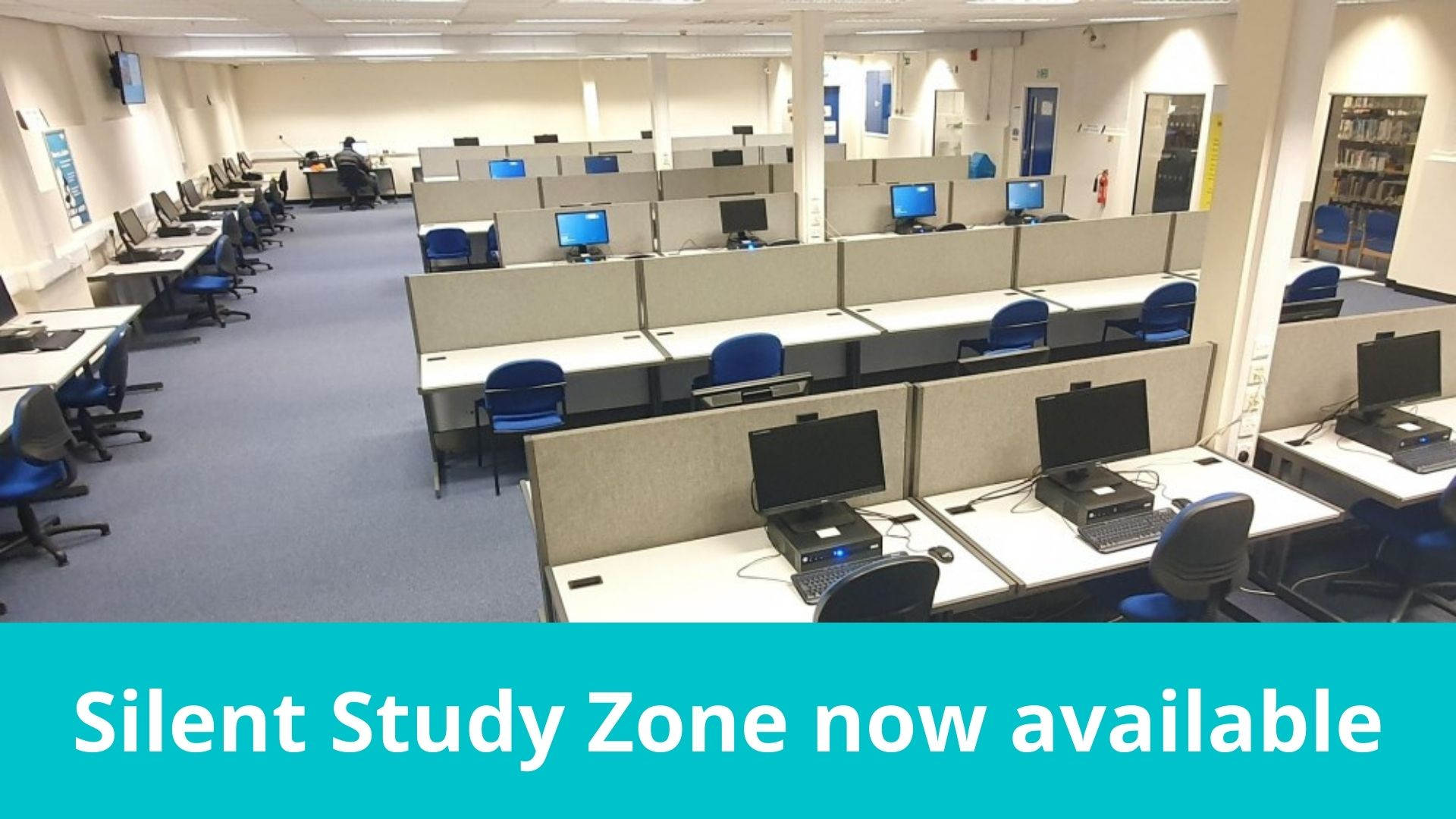 Peter Marsh Library Silent Study Zone