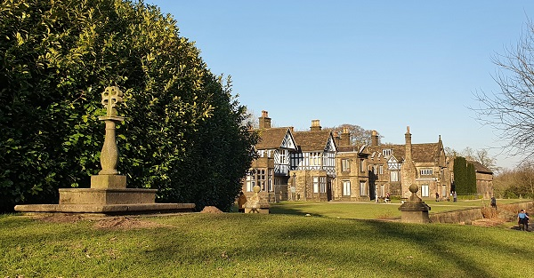 Smithills Hall in Bolton