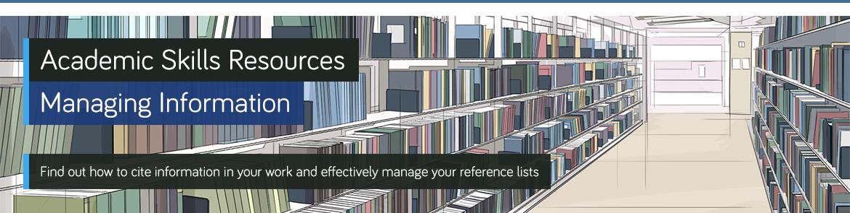 Header image for managing information