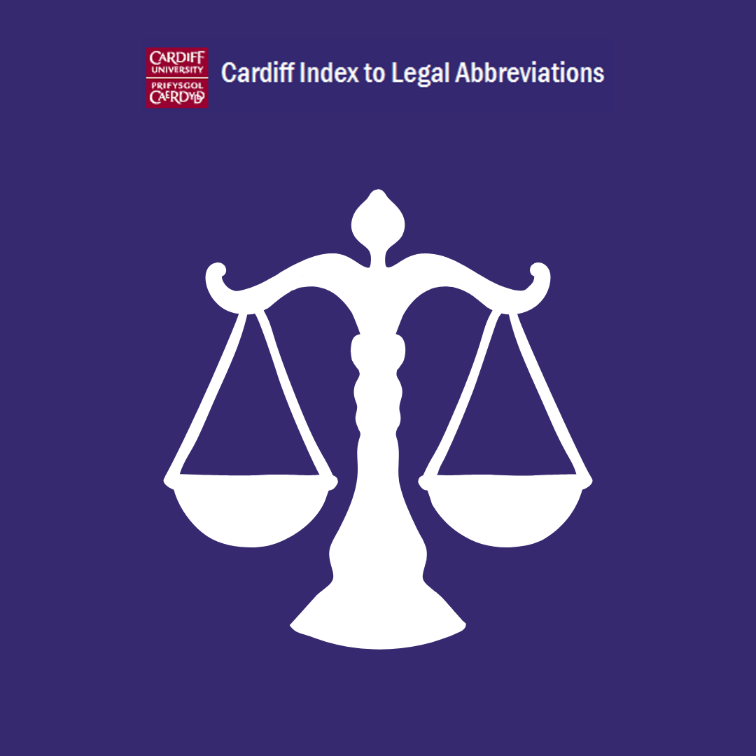 Cardiff Index to Legal Abbreviations icon