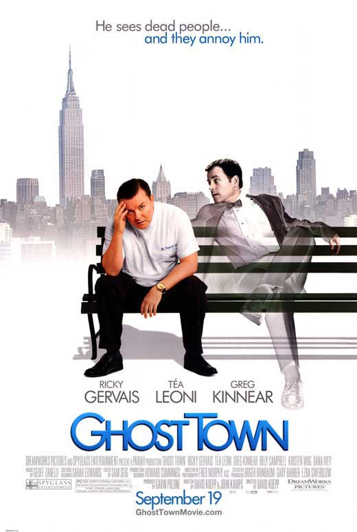 Film poster for Ghost Town