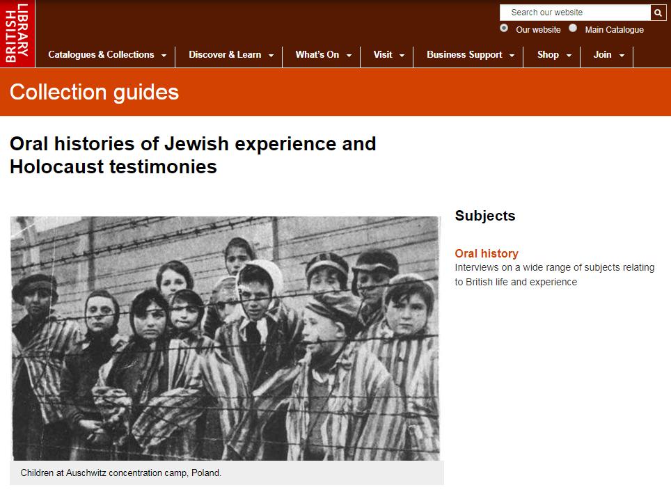 website homepage image
