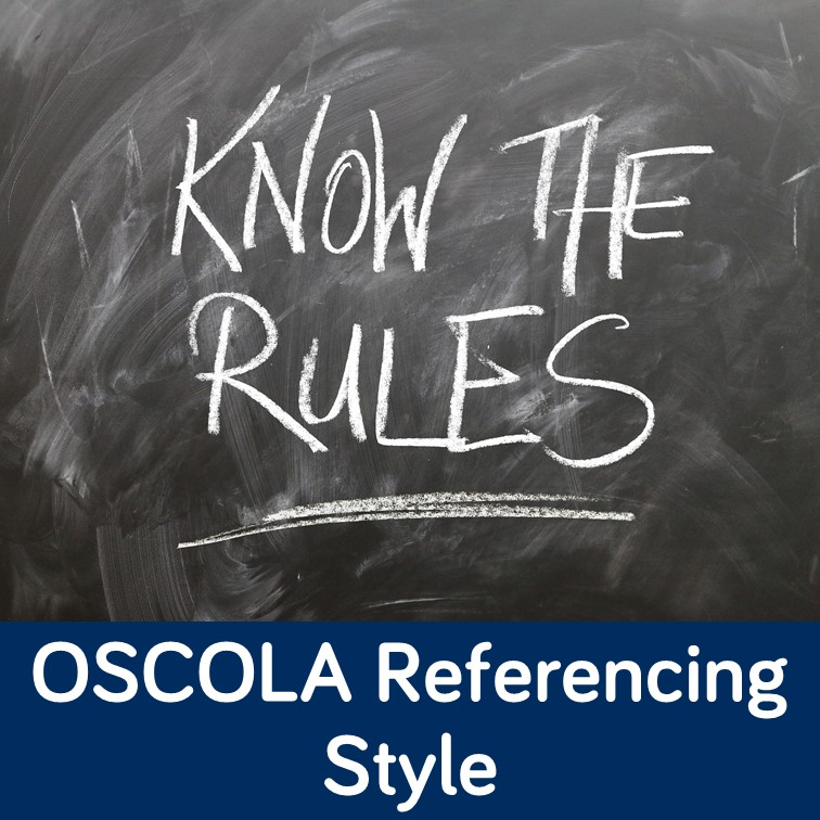 OSCOLA Referencing