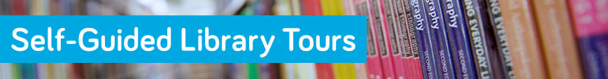 Self-Guided Library Tours banner