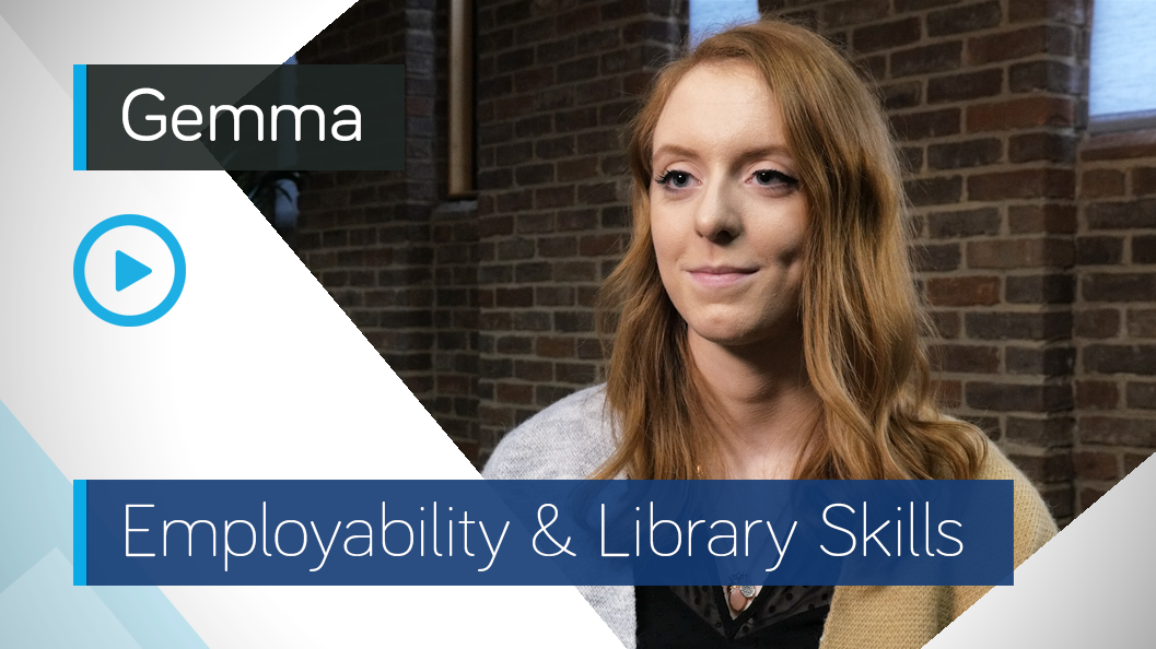Employability & Library Skills Video - Gemma