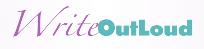 Write out loud banner