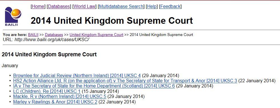 BAILII Supreme Court 2014