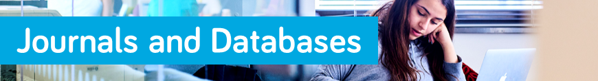 Journals and Databases banner image
