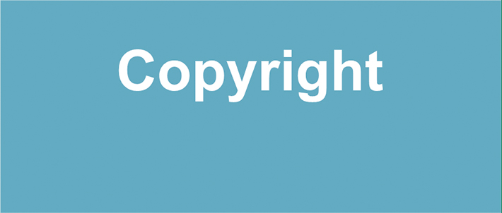 Button for copyright information page.