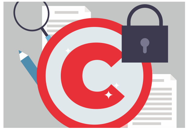 Illustrative image of copyright logo. Image iStock-1138068503