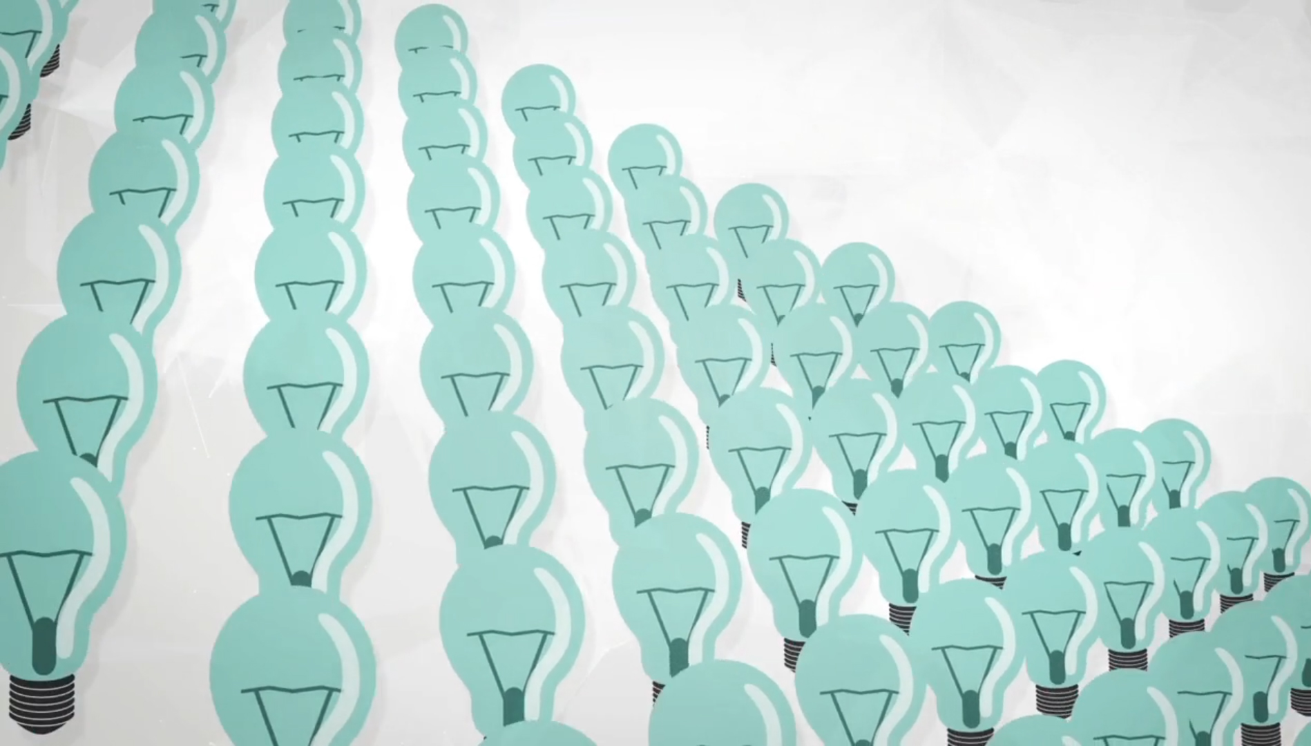 Illustrative image of light bulbs. Image from 00:50 video 'Copyright & Creativity' by copyrightuser.org  https://www.copyrightuser.org/create/creative-process/copyright-and-creativity/ released under CC-BY 3.0  license.