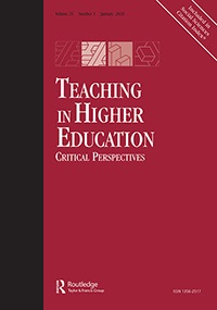 Teaching in Higher Education cover image