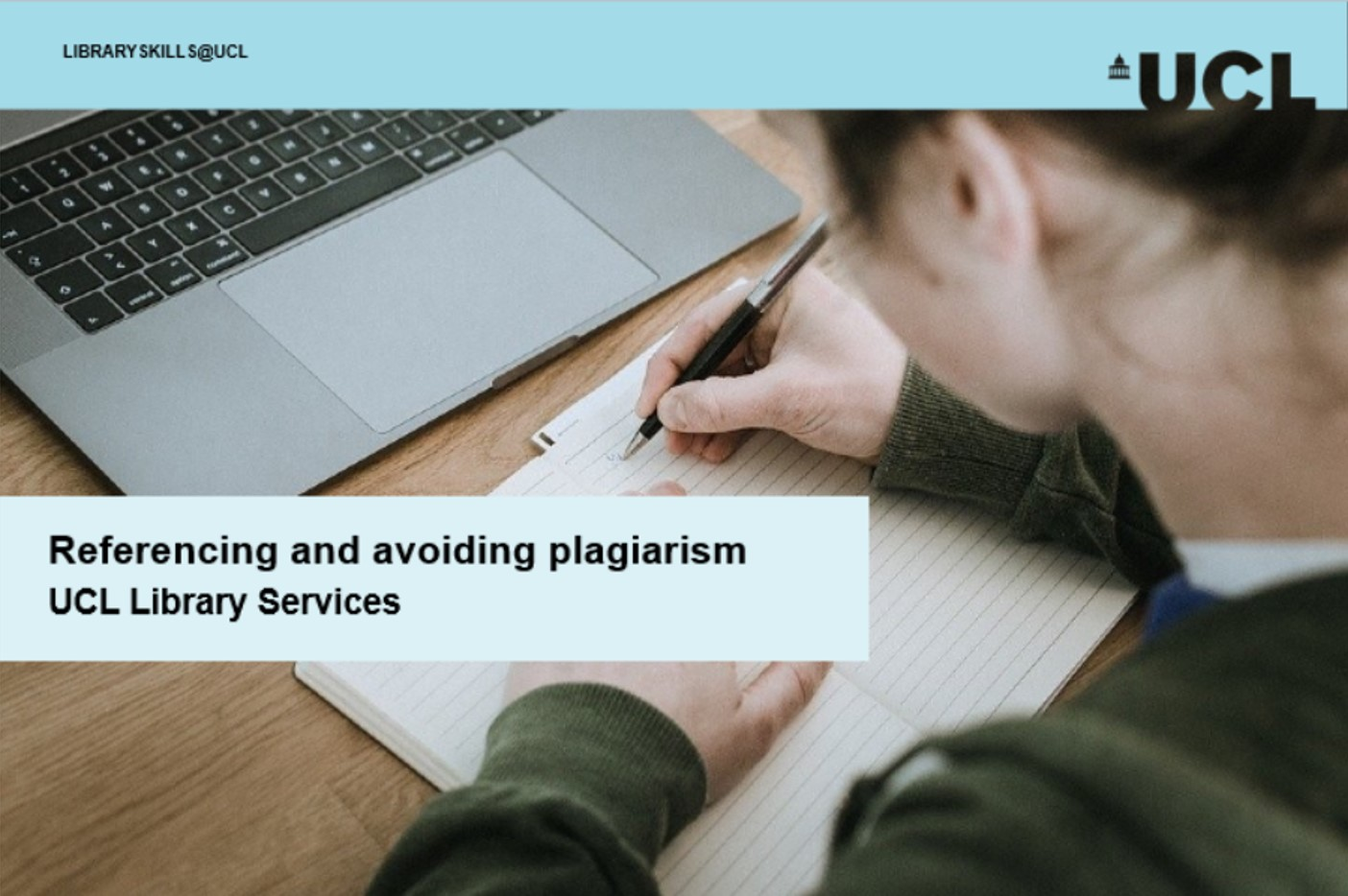 Referencing and avoiding plagiarism tutorial