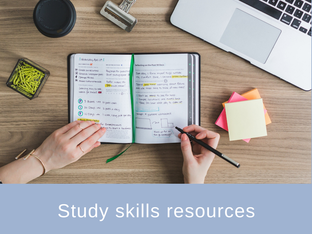 Study skills resources