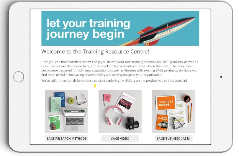 Link through to the Sage Training Resource Centre