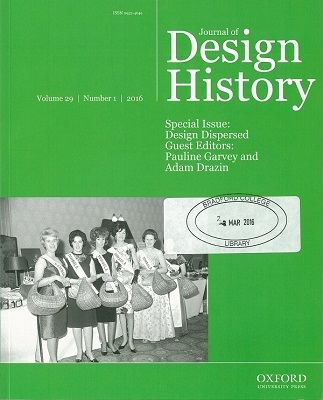 Journal of Design History