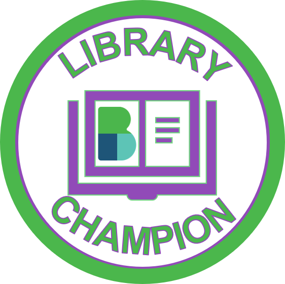 Library Champion Logo