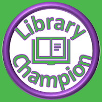 Library Champion logo - link to Library Champions page