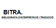BITRA. Bibliografía de Interpretación y Traducción