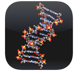 Preview of Molecules App for iPhone