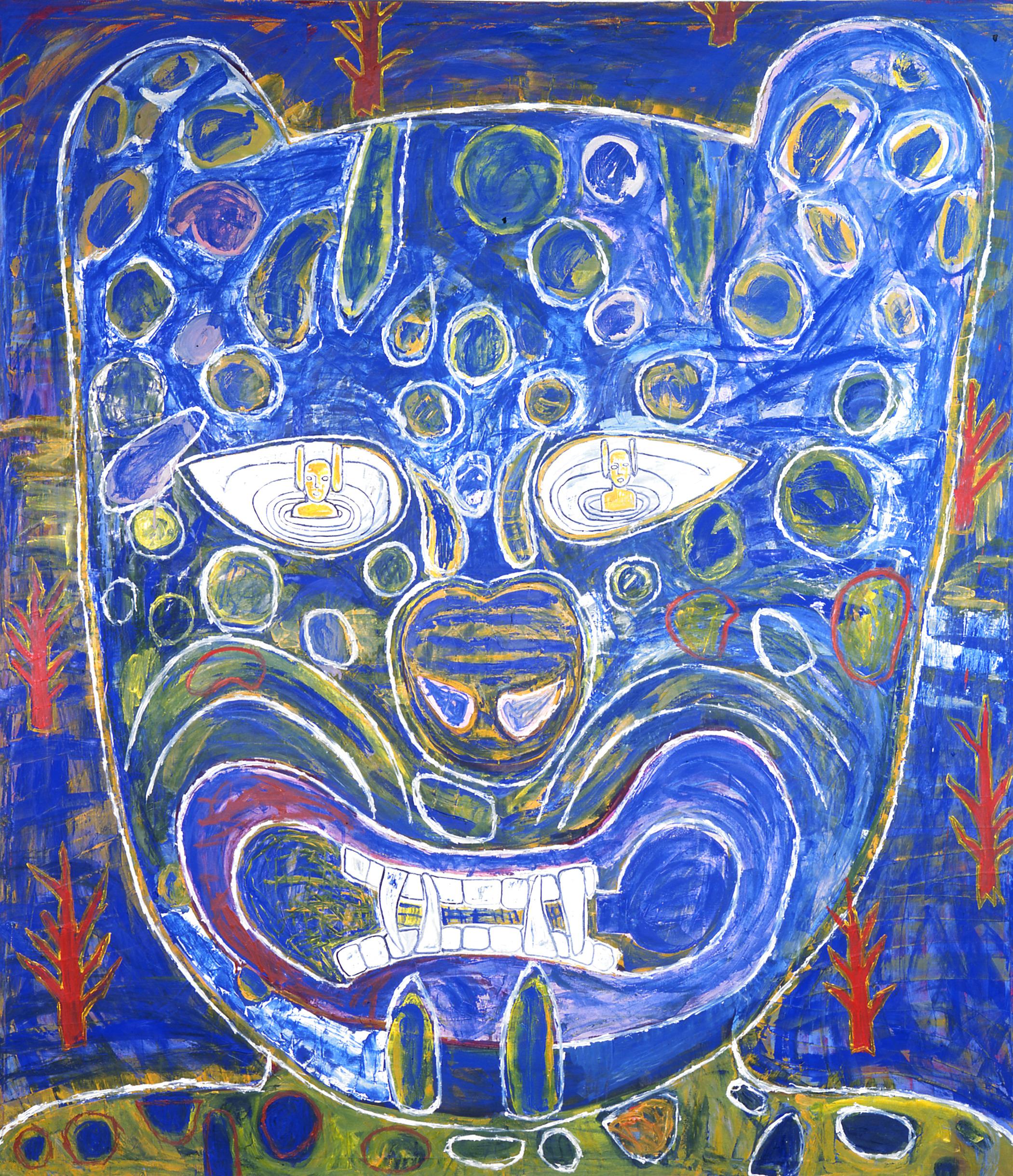 Raúl Piña 'Doble elipse de luna' 1998