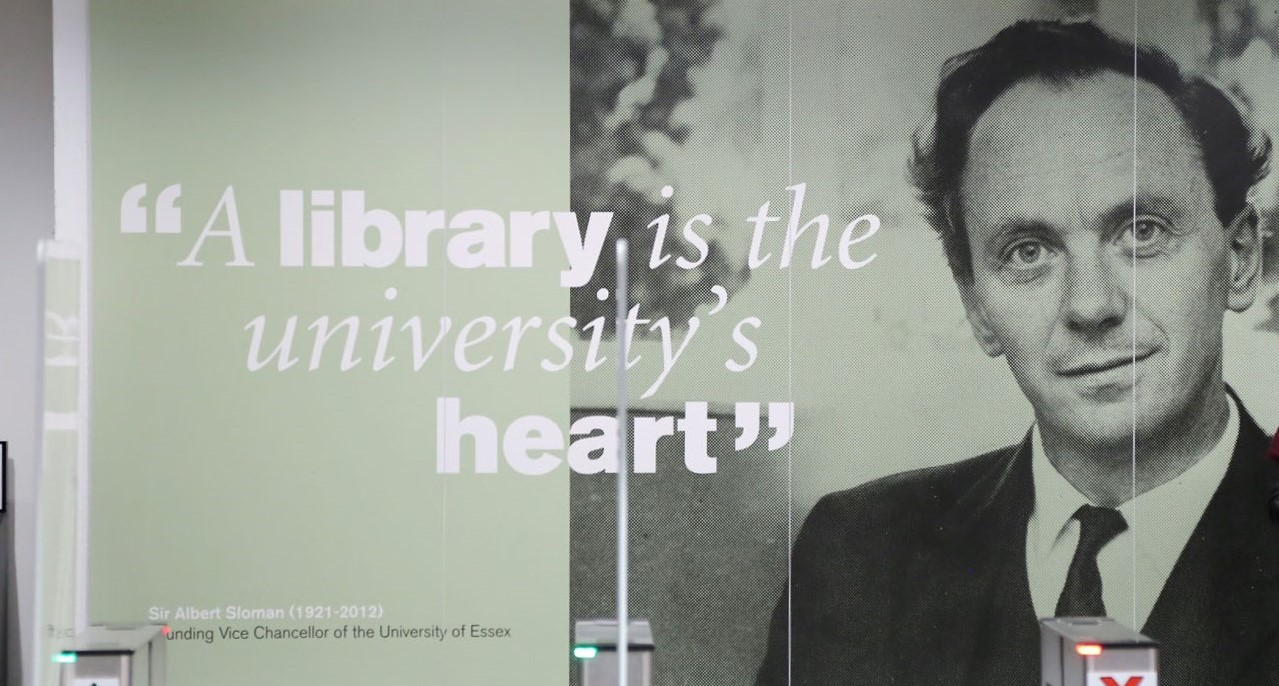 Albert Sloman quote: A library is the university's heart